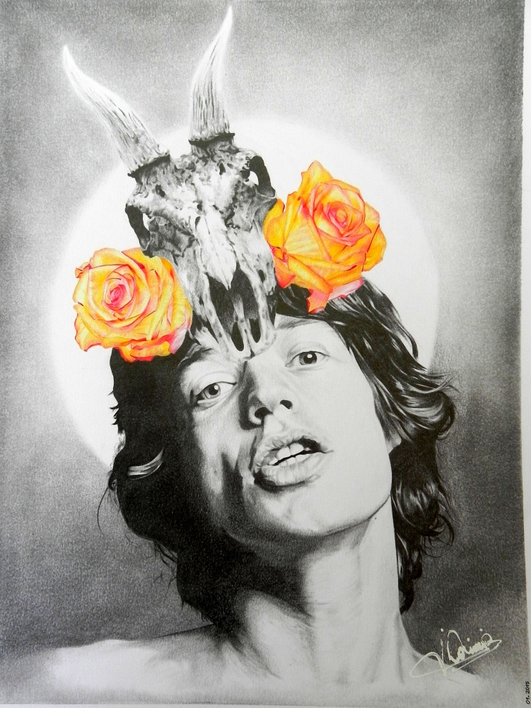 Mick Jagger by Domine